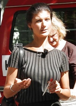 Upskirt sahra wagenknecht Sahra Wagenknecht