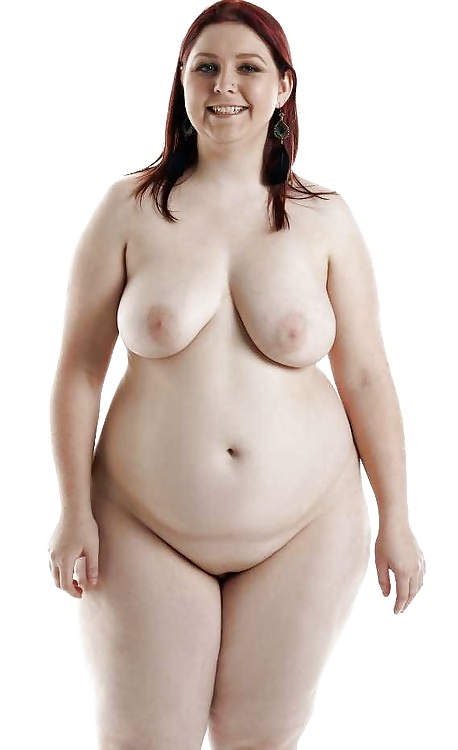 Nude plus size woman standing in empty room by peyton weikert