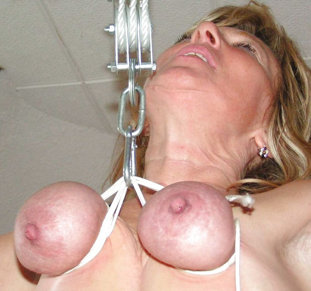 Hanging Breasts Porn
