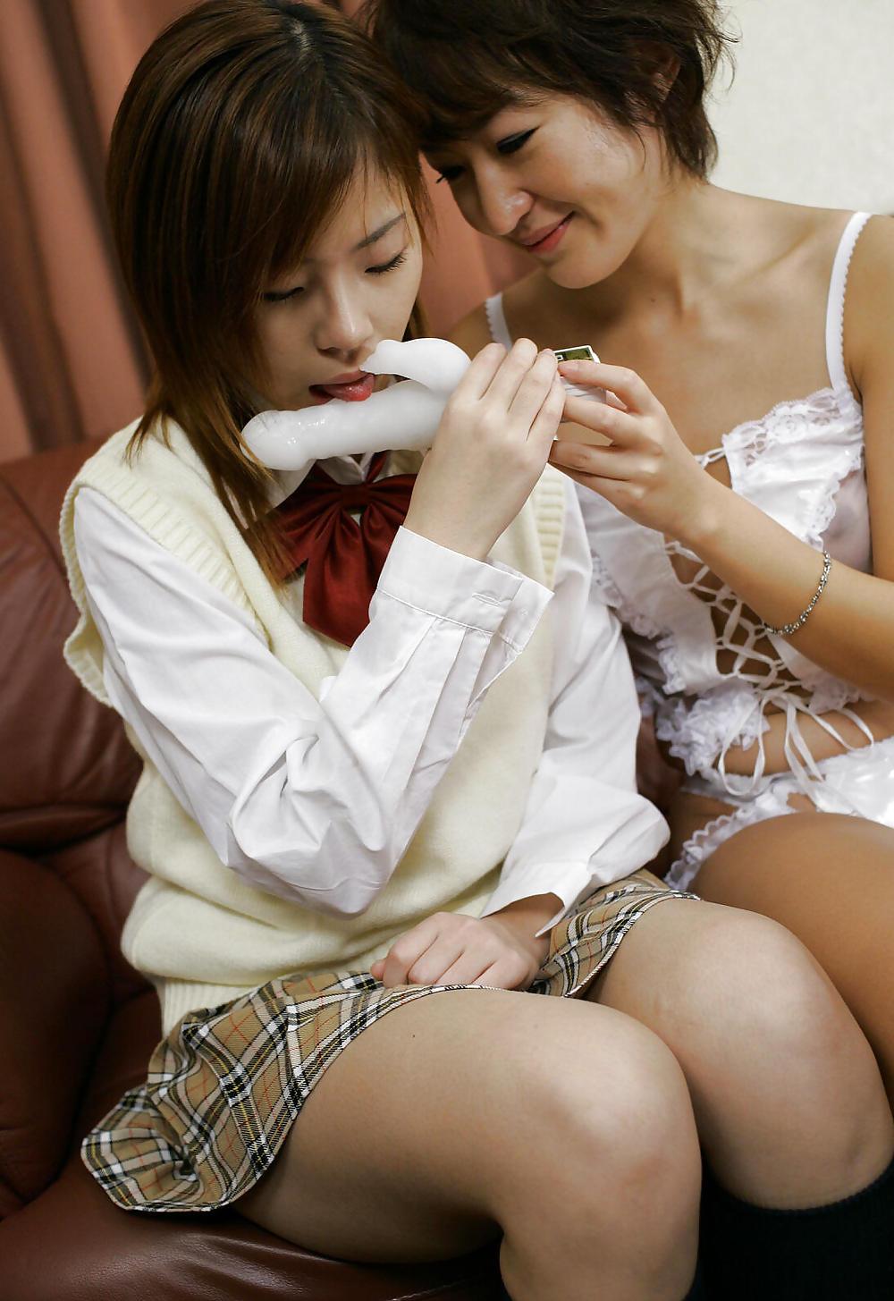 Hot japanese lesbian porn