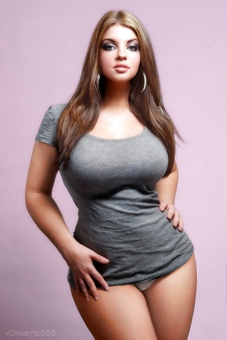 Thick busty in belly shirt 14