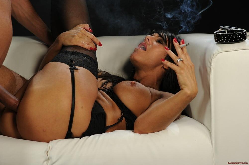 Smoking Mature Porn Pics