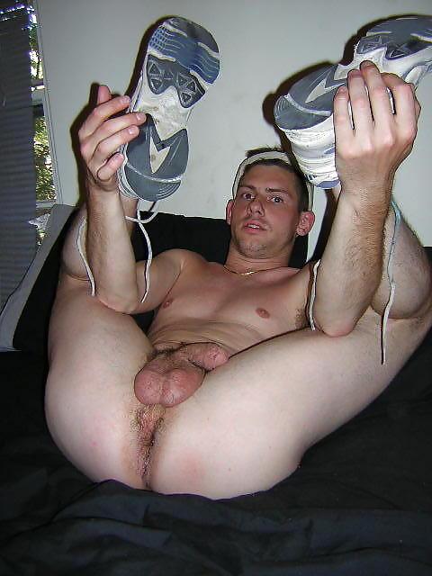 Men spread eagle fetish