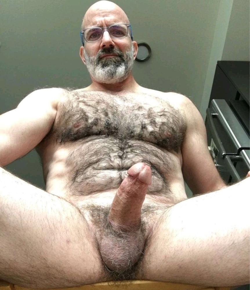 Gay male hirsute daddies