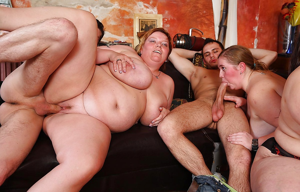 Group sex naked fat