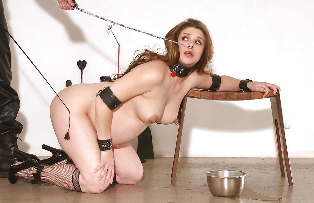 Mary jane in bolero straitjacket chains bondage