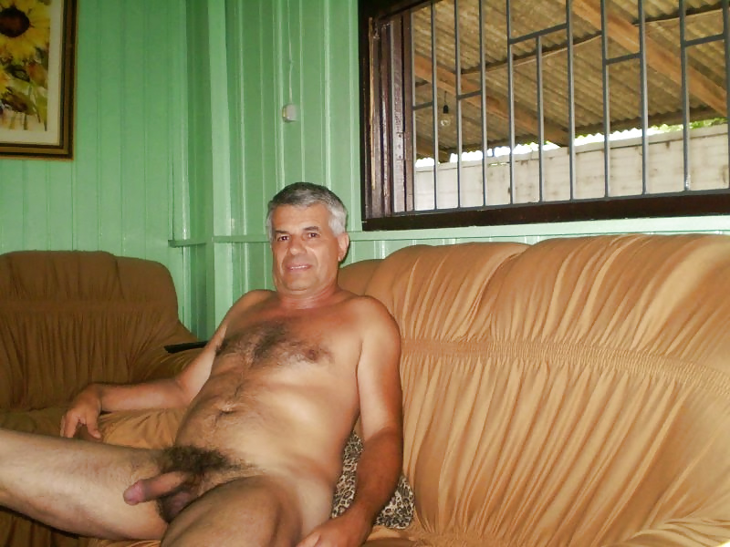 Naked older men