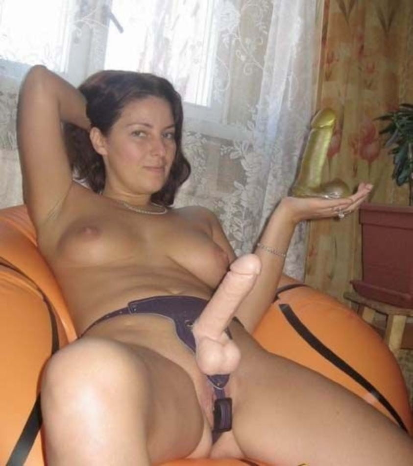 Mature women with strapon