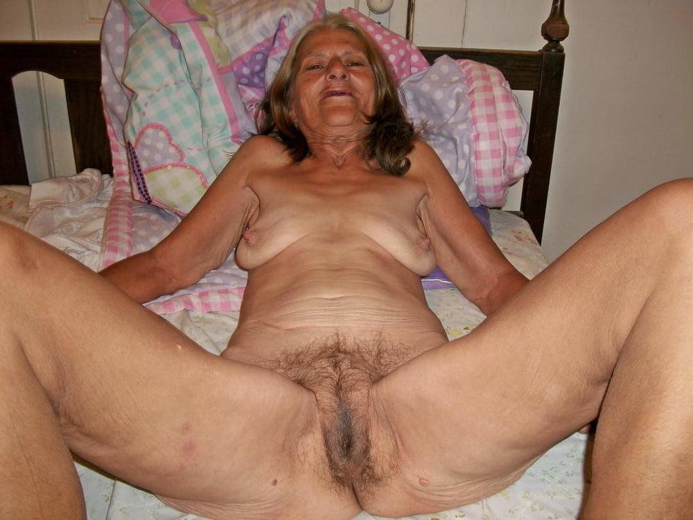 Very old granny hairy