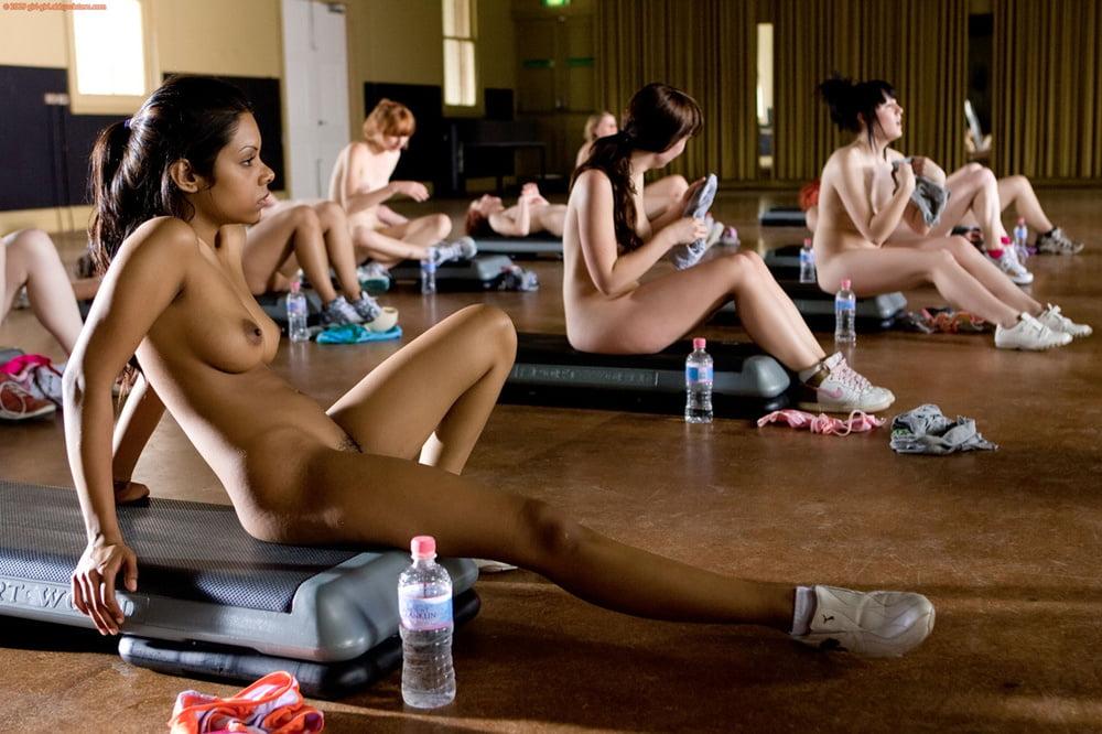 Nude Girls Doing Aerobics