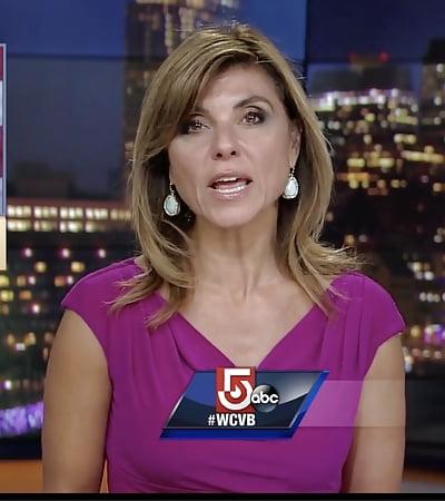 Milf news anchor