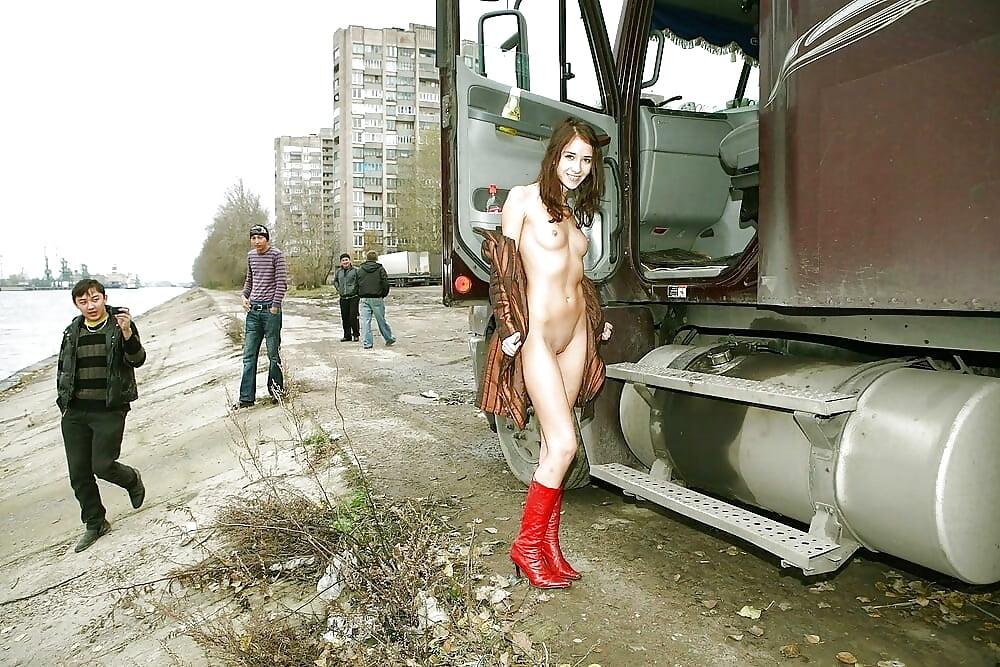 Русское порно дальнобойщики 1