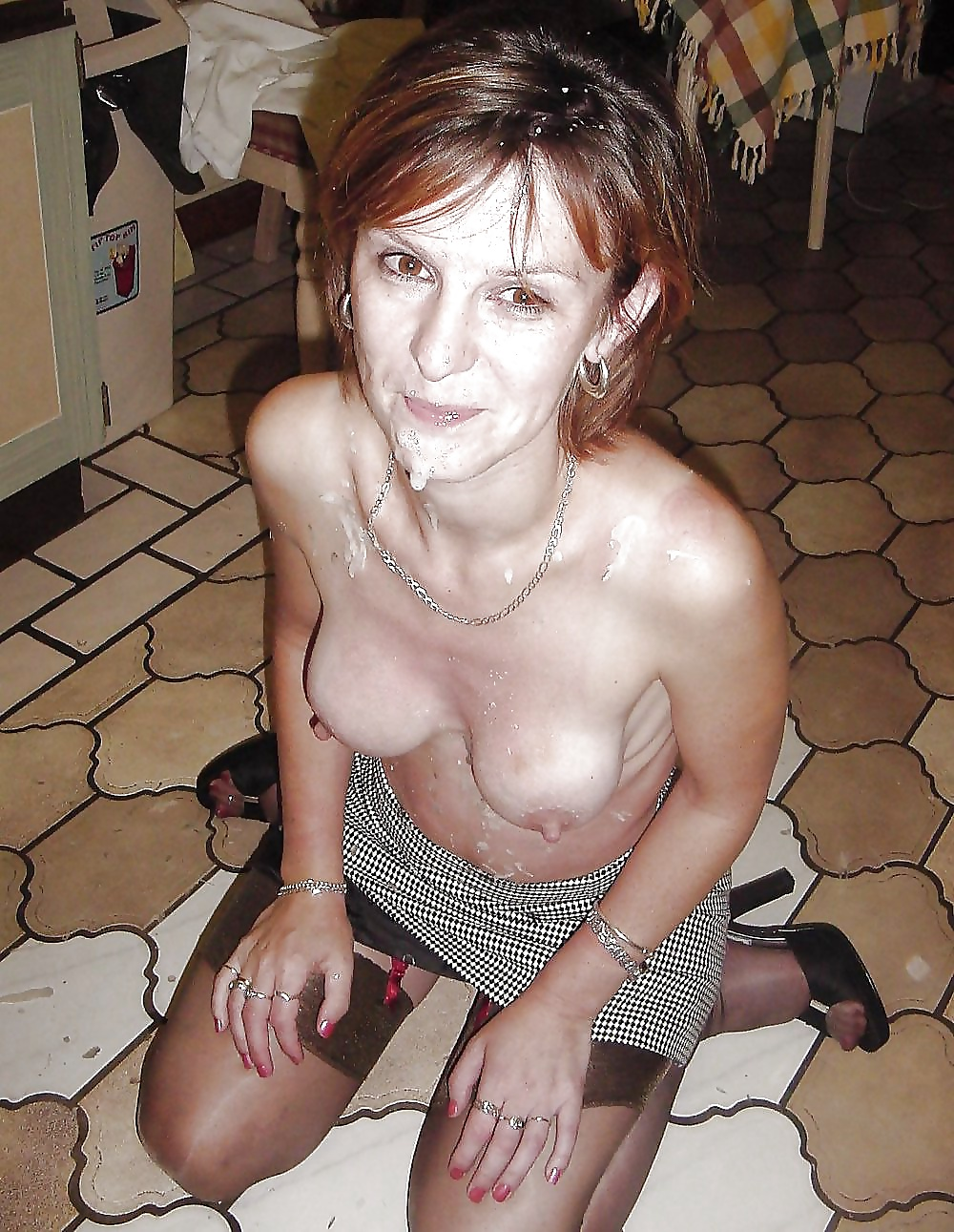 Cum loving mature slut