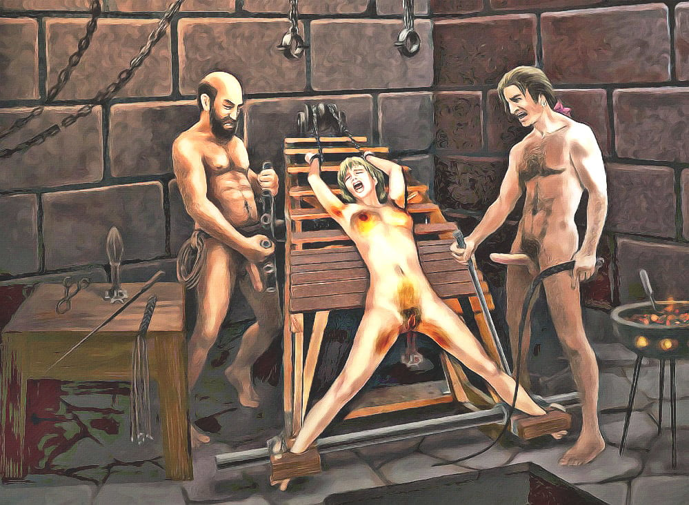 Nude hot men tortured
