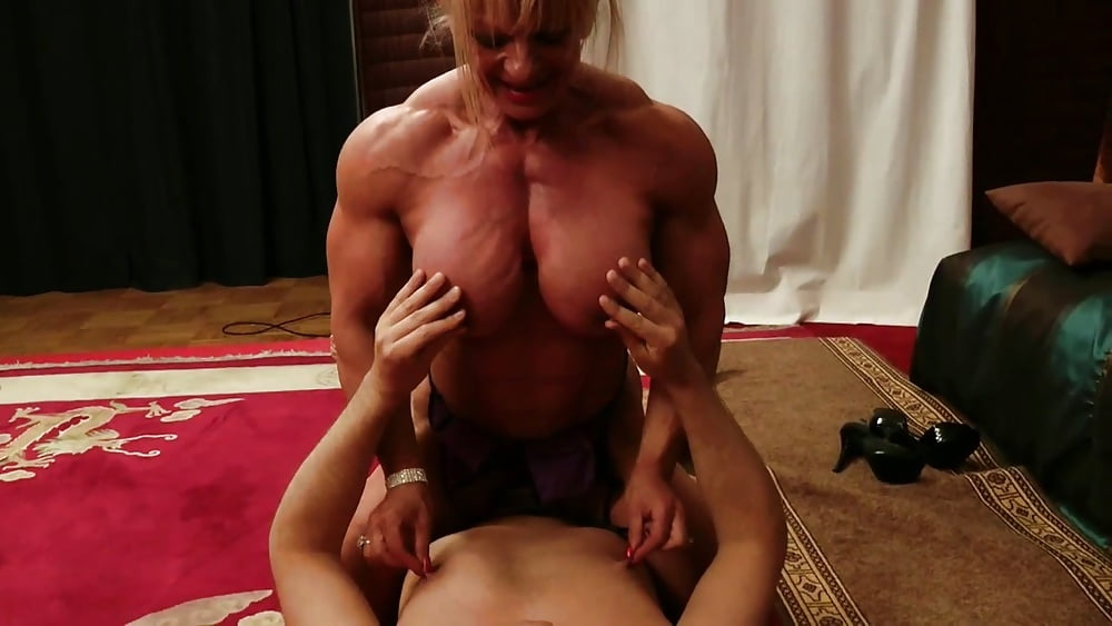 Dominant muscle sex girl story — img 8