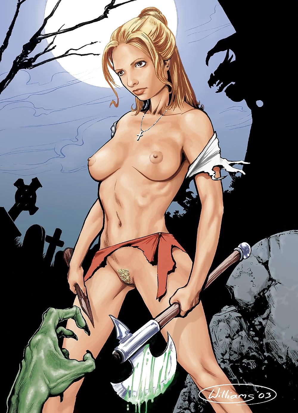 Buffy the vampire slayer nude