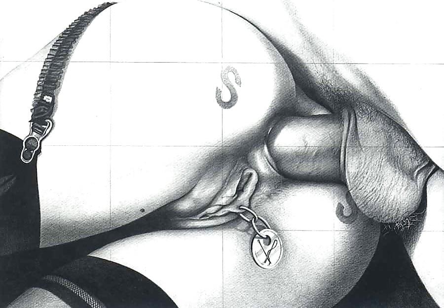 простые рисунки карандашом порно лекция