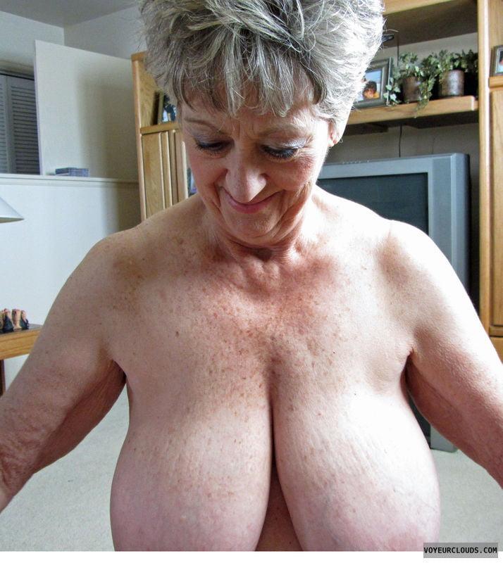 People havibg old people with big boobs naked