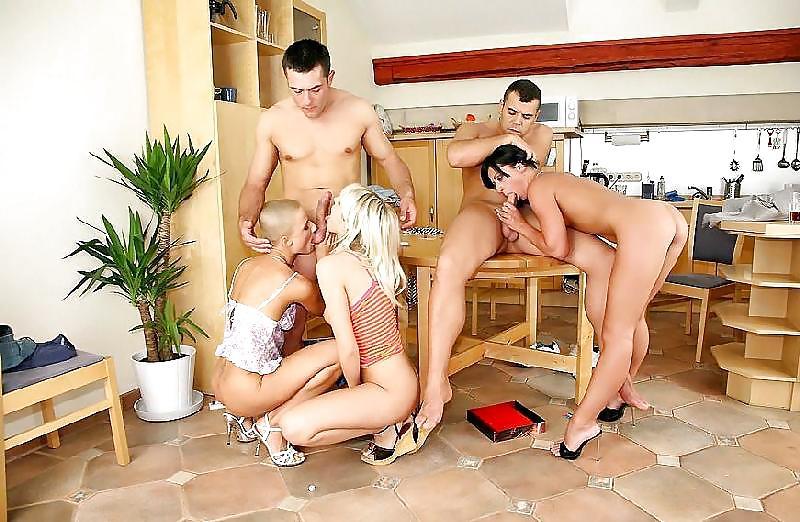 Порно Группа Кухня