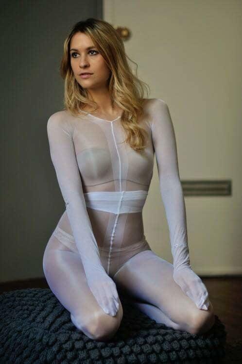 Pantyhose encasement porn-9831
