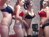 web cam lesbian teens lingerie bra dildo big natural tits