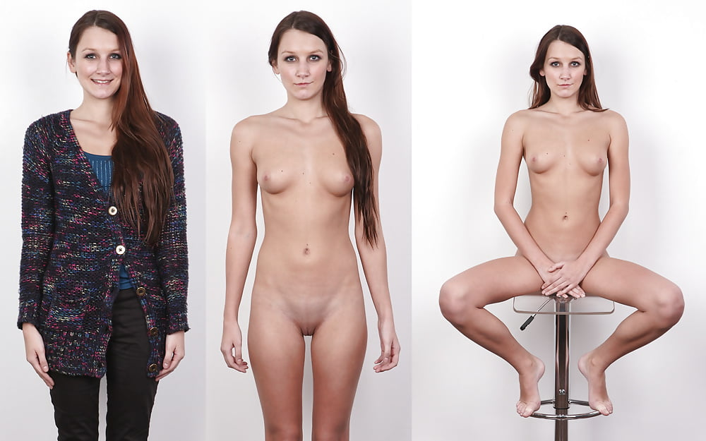 Clothed and naked