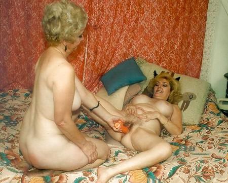 grannies and teen Lesbian