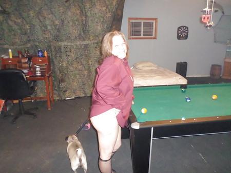 wife Sheila playing