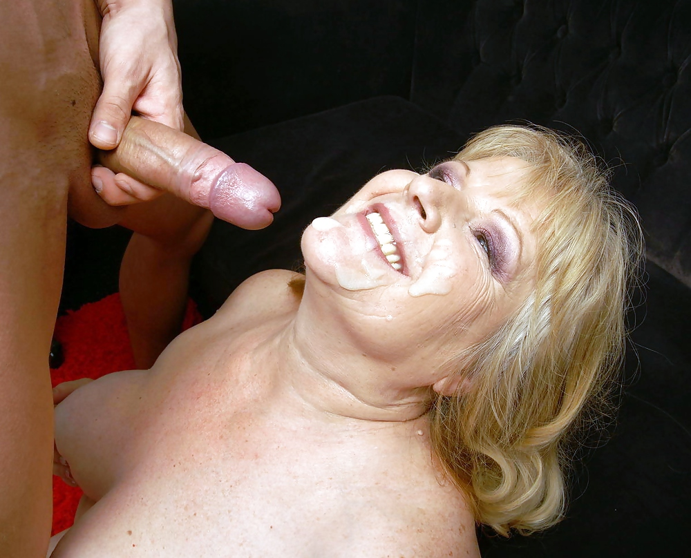 Granny and young guy porn