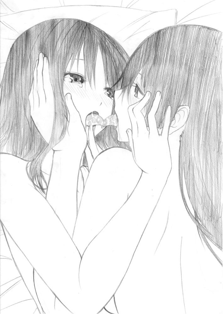 Anime lesbian porn-7689