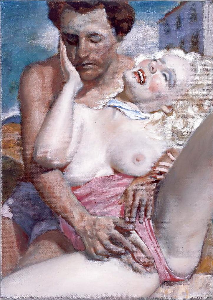 Французская художница в порно — img 4
