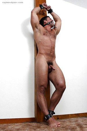 And bound nude Tied up