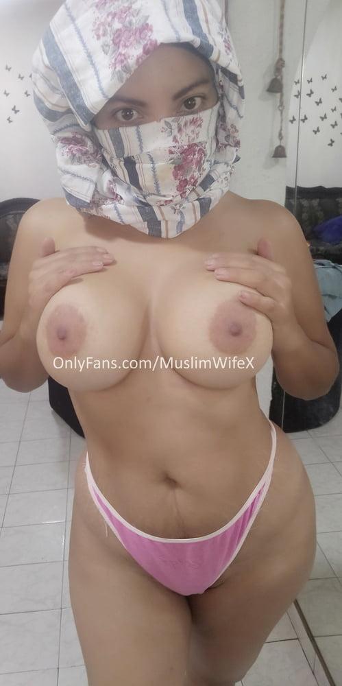 Real Arab Muslim Wife In Hijab (me) Showing My Nude Body! - 75 Pics