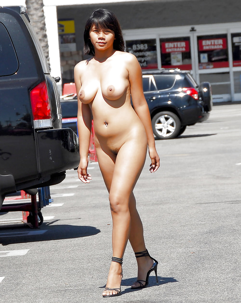 And marge nude chinese expose public