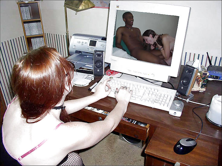 Men Jerking Off Watching Porn