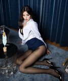 Asians in nylons -59