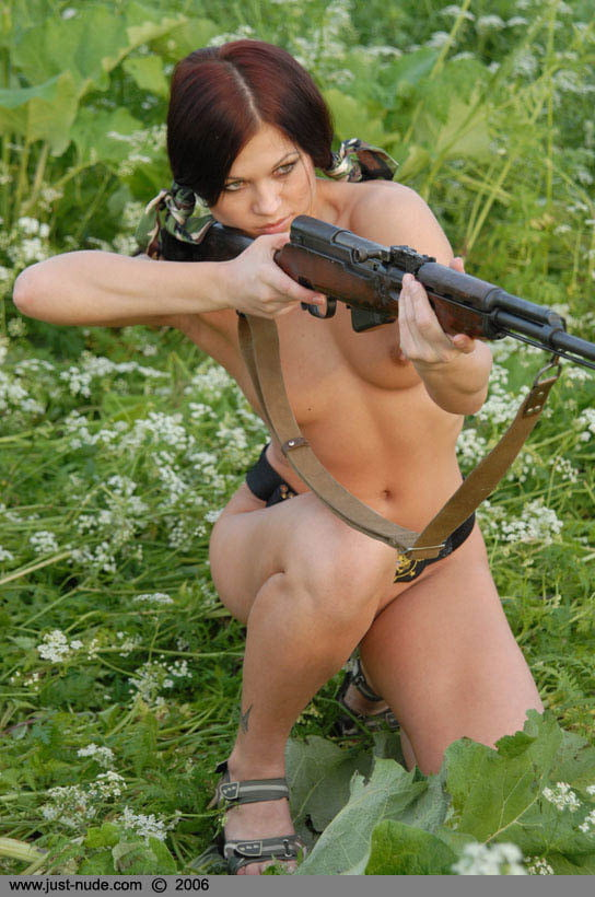 Rebel girls with guns gone wild