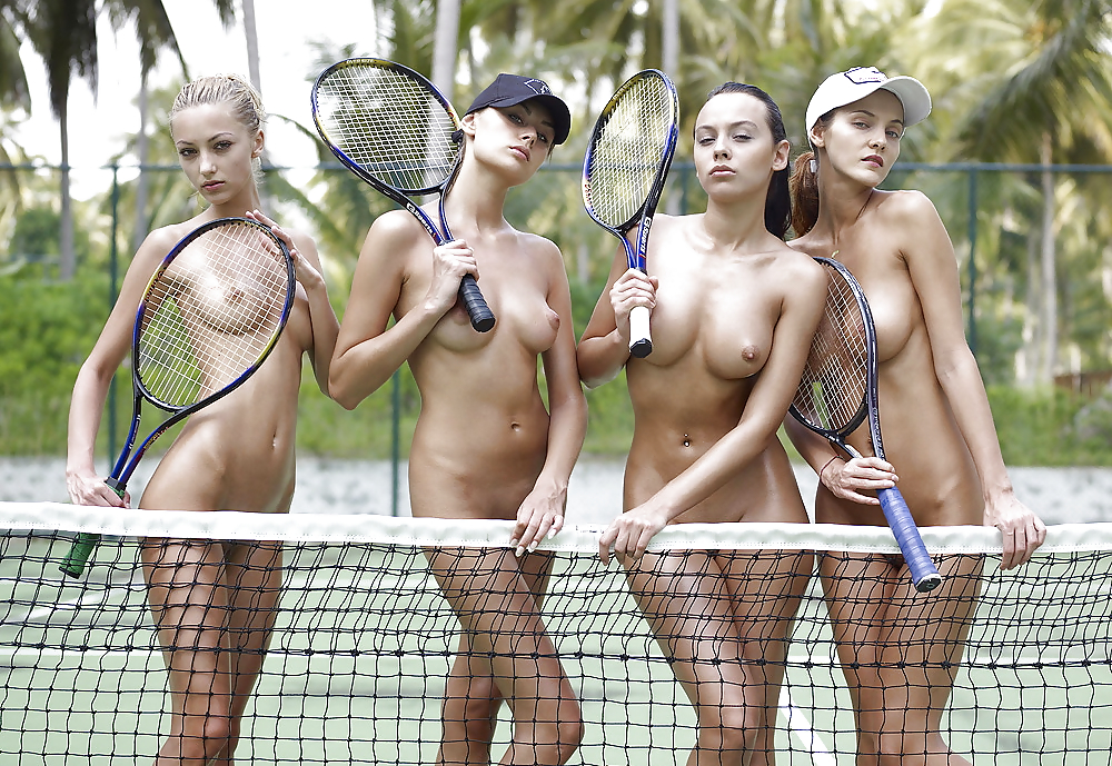 The pictures female tennis players don't want you to see
