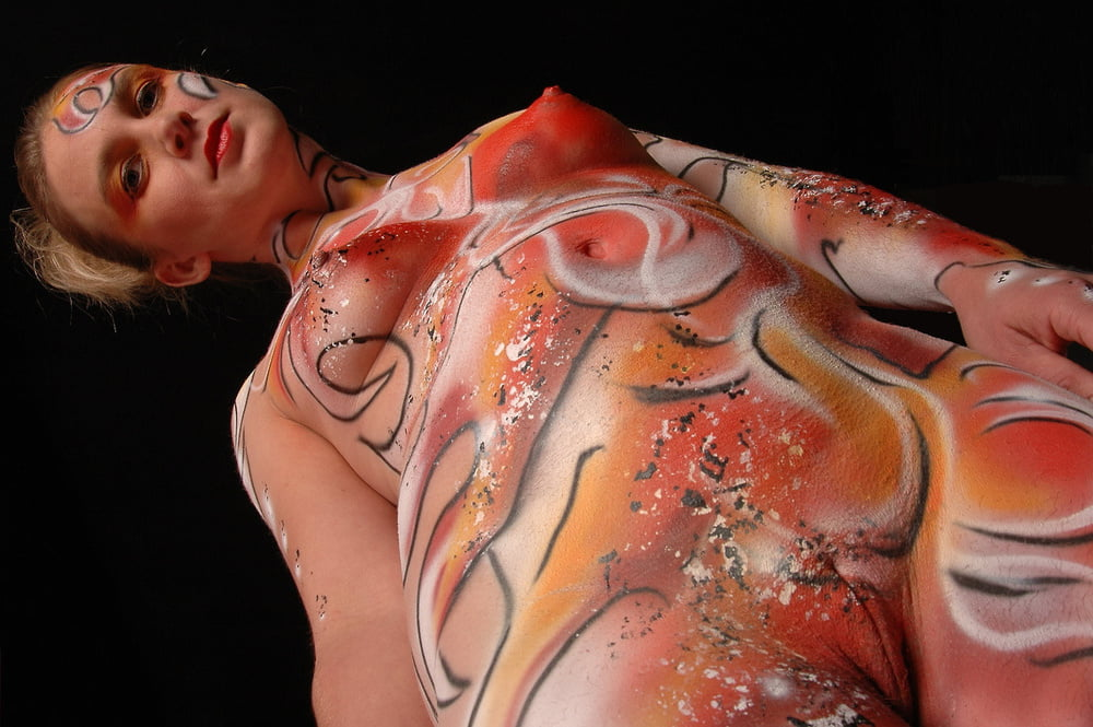 These People Had Famous Artworks Painted On Their Naked Bodies