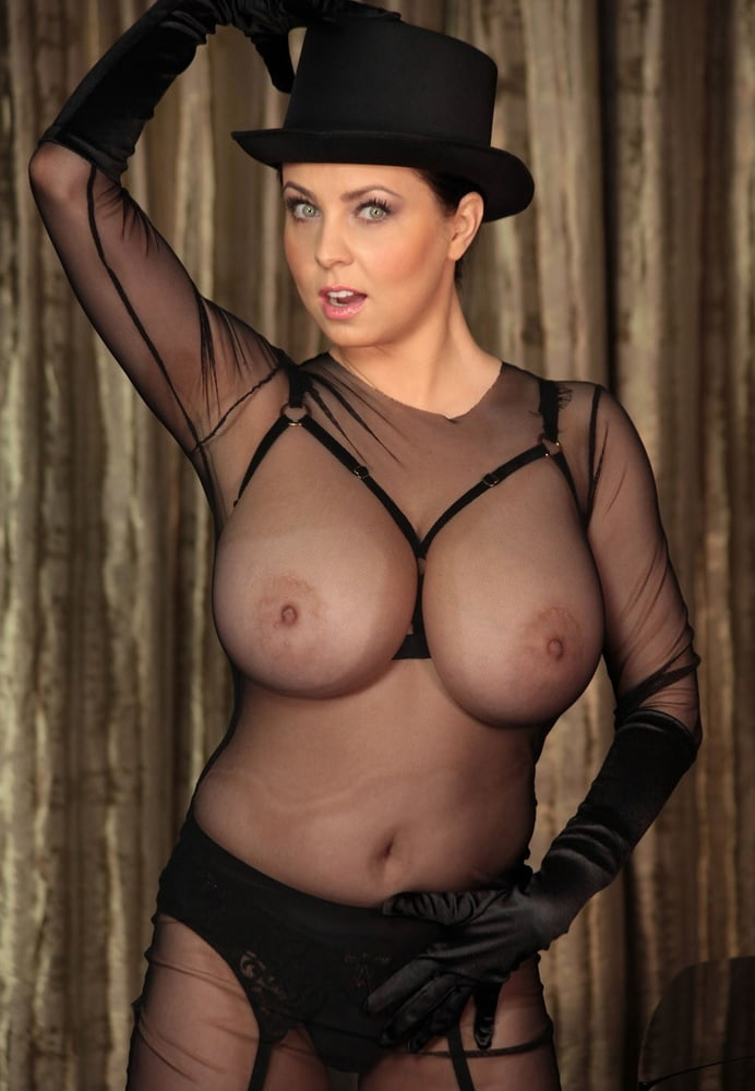 Girl and huge tits in clothes nguten
