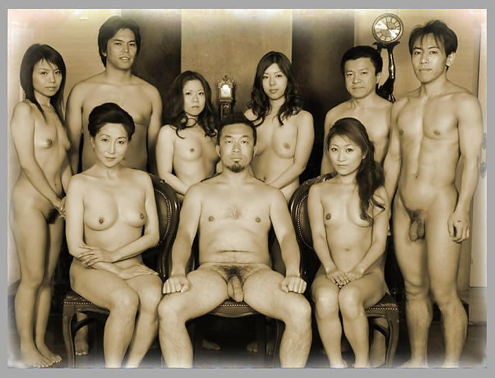 Cute naked asian men