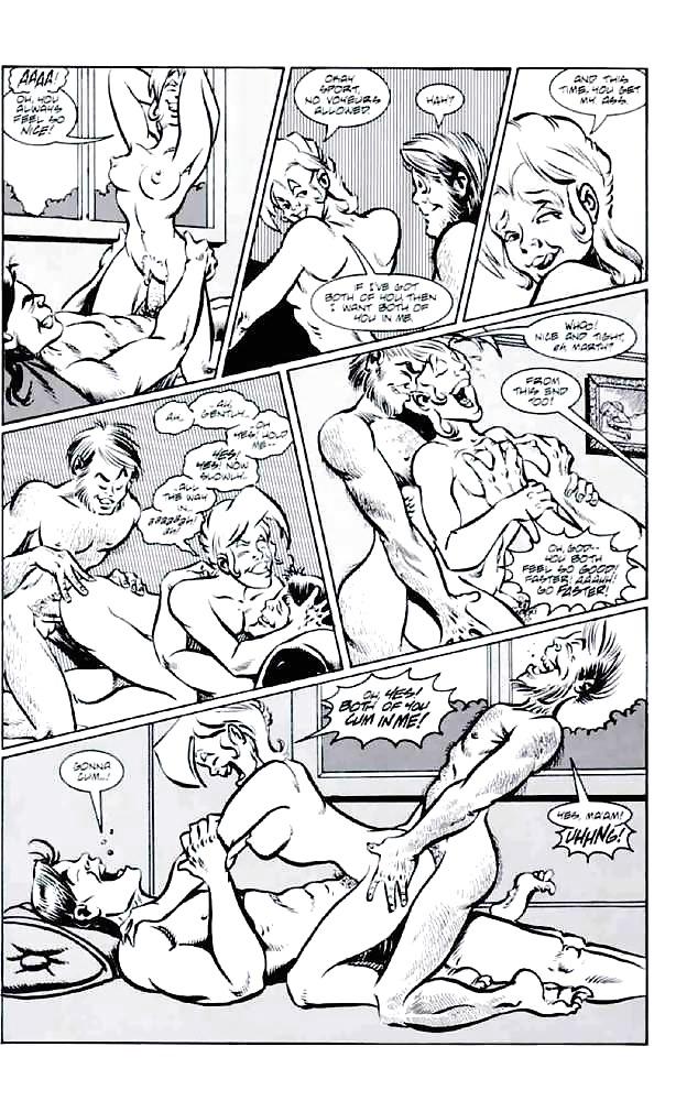 Black n white comics xxx-1365