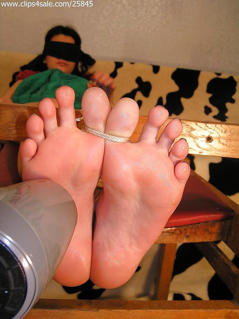 Lesbian Bound Foot Worship