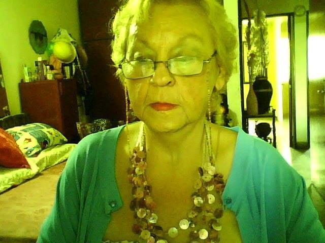 Busty granny webcam
