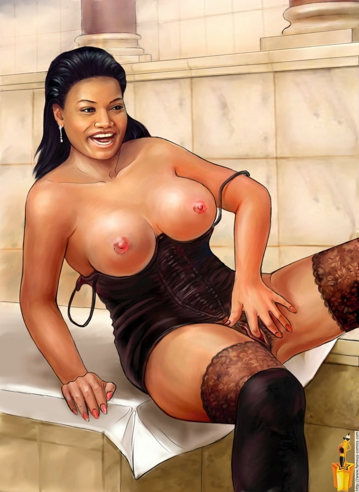 Queen Latifah Porn Anal