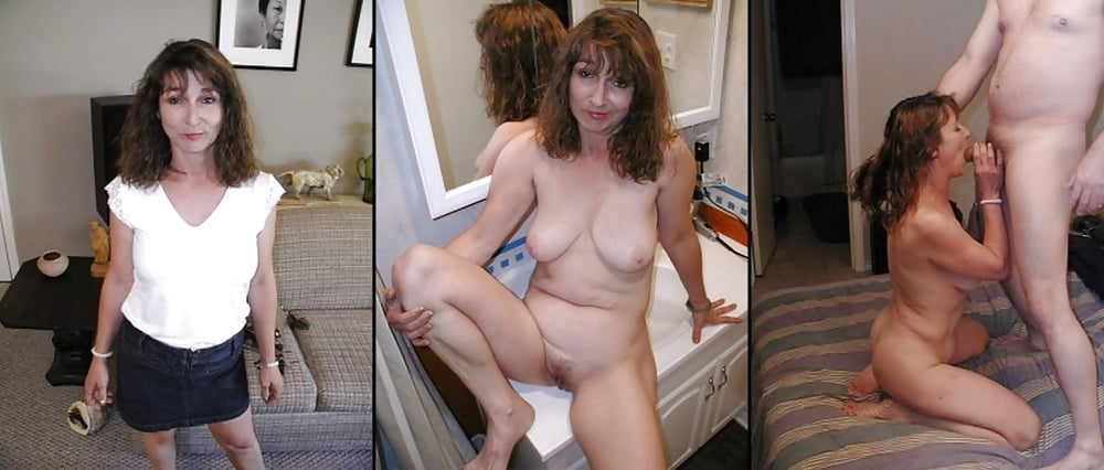 Wives caught naked
