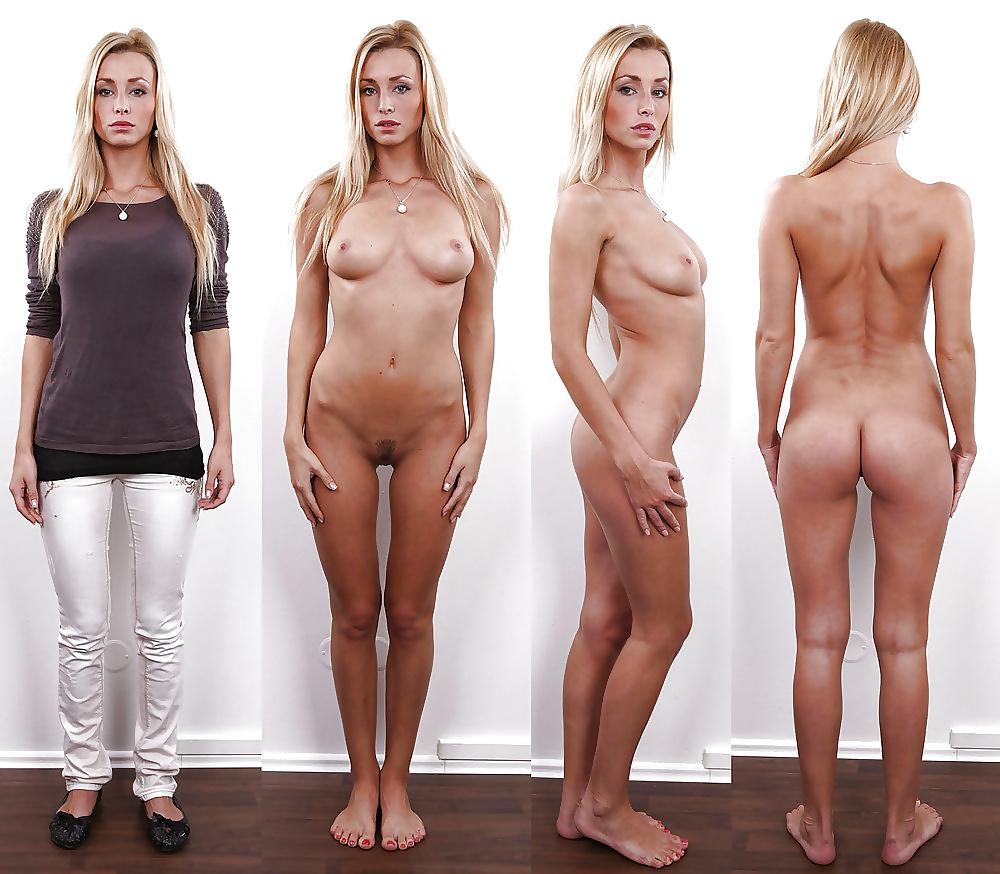 Фото постепенно раздевающихся моделей 14