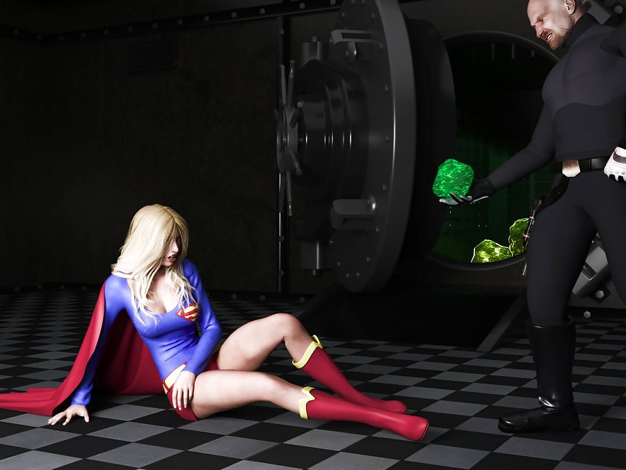 Supergirl gets banged by superman in the ice fortress
