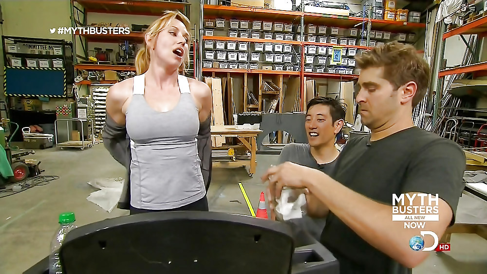 The Mythbusters Like You've Never Seen Them Before