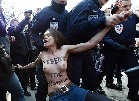 Naked woman arrested
